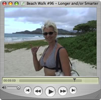 Watch Beach Walks with Rox #95