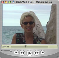 Watch Beach Walks with Rox #100