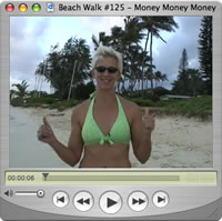Watch Beach Walks with Rox #125